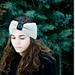 Black Pin-Up Turban Headband pattern