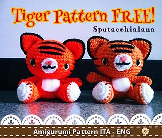 amigurumi bear with scarf - free PDF crochet pattern | Airali | 273x320
