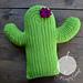 Crafty Cactus Pillow pattern