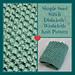 Simple Seed Stitch Dishcloth pattern