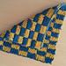 Checkerboard Potholder pattern