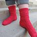 Kitty Corner Socks pattern