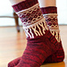 Fringe Socks pattern