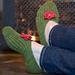 Seamless Slippers pattern