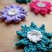 Crochet Water Lily Flower pattern