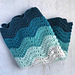 Bahama Waves Baby Blanket pattern