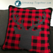 Buffalo Check Pillow Cover pattern