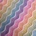 Pastel Rainbow Baby Blanket pattern