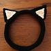 Kitty Cat Ear Headband pattern