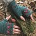 Magic Toadstool mitts pattern