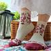 Summer Sky socks pattern