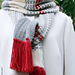 Netzwerk Schal und Mütze pattern
