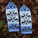 Reindeers Mittens pattern