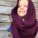 Sleigh Ride Hooded Infinity Scarf pattern