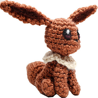 Eevee Amigurumi Crochet Pattern - Free - Ami Amour   320x320