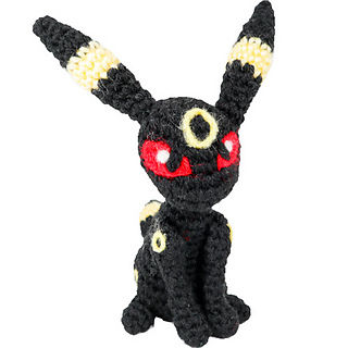 Baby Umbreon by Evelyn Pham #ravelry #crochet #pattern #free ... | 320x320