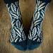 Winter Grass Socks pattern