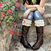 Eleanor boot toppers pattern