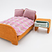 Dollhouse bed pattern