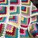 Modern Mitered Granny Square pattern