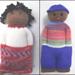 Comfort Dolls on the CSM pattern