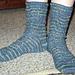 Rainy Day Sock Pattern pattern