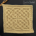 Book of Kells Square Knot pattern