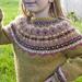 """Fimma"" Lopapeysa (Icelandic lopi wool Fair Isle sweater) pattern"