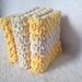 Linen Stitch Washcloth pattern