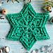 Flower Star Snowflake pattern