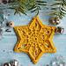 Sun Star Snowflake pattern