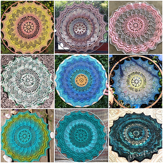 Collage of Mandalas made by Testers