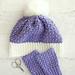 Elizabeth Stitch Crochet Hat pattern