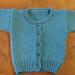 1-5-1 Baby Sweater pattern