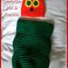 Newborn Caterpillar Hat & Cocoon Set pattern