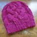 #168 Sublime Cabled Hat pattern