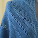 #181 Sapphire Lace Shawl pattern