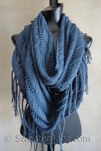 Beige Ivory Crochet Lace Boho Bohemian Infinity Circle Eternity 267 mv Scarf