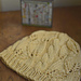 #114 Breezy Lace and Cable Hat pattern