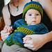 Seamless Wrap Sweater (Infant + Toddler Sizing) pattern