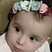 Cute girl headband pattern