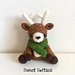 Dawson the Deer, Woodland Waldorf Doll pattern