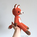 Finley the Orange Fox pattern