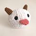 Poro Plushie from League of Legends pattern