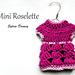 Mini Roselette pattern