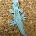Australian Reptiles of the Land - bookmarks and motifs pattern