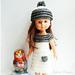 "Perline Chéries for 13"" dolls pattern"