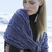 Amagansett Cabled Shawl pattern