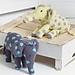 Noah's Ark Elephants pattern