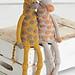 Noah's Ark Giraffes pattern